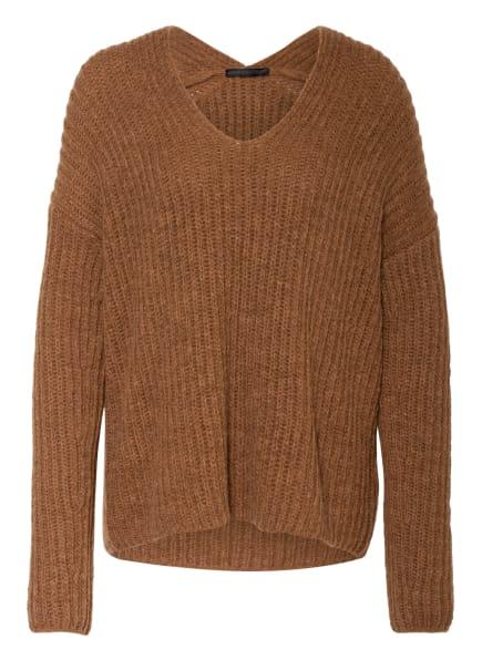 DRYKORN Pullover LINNAS mit Alpaka , Farbe: BRAUN (Bild 1)