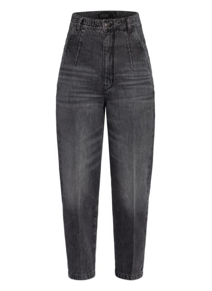 DRYKORN 7/8-Boyfriend Jeans MIND, Farbe: 1010 schwarz weiss (Bild 1)