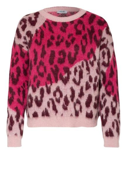 LIU JO Pullover, Farbe: FUCHSIA/ ROSÉ/ DUNKELROT (Bild 1)
