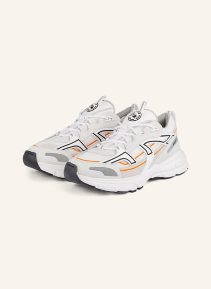 AXEL ARIGATO Sneaker MARATHON R-TRAIL, Farbe: WEISS/ SCHWARZ/ ORANGE (Bild 1)