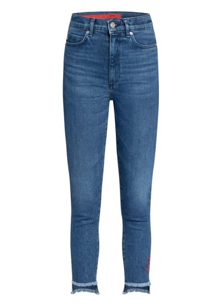 HUGO Skinny Jeans LOU , Farbe: 425 MEDIUM BLUE (Bild 1)