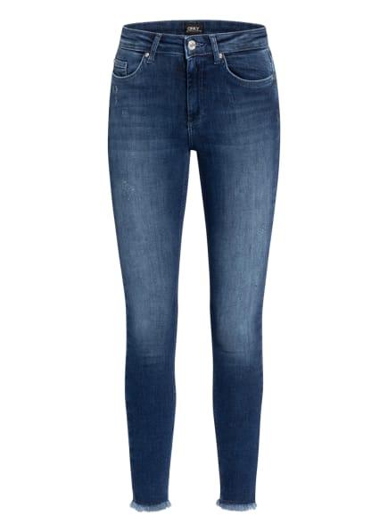 ONLY Skinny Jeans, Farbe: DARK BLUE DENIM (Bild 1)