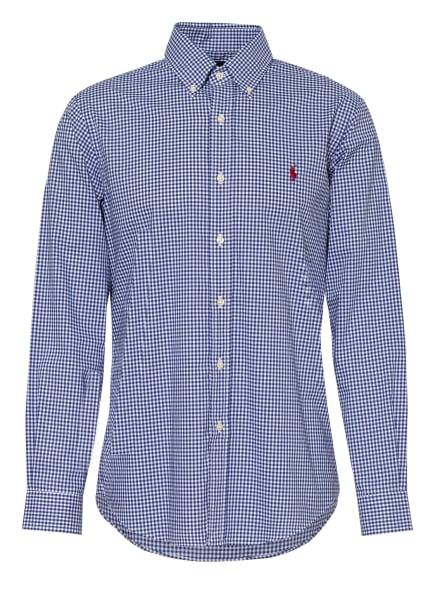POLO RALPH LAUREN Hemd Custom Fit, Farbe: WEISS/ BLAU (Bild 1)