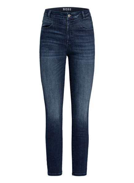 BOSS Skinny Jeans SKINNY CROP 1.2, Farbe: 413 NAVY (Bild 1)