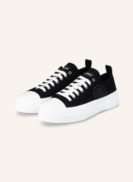 DOLCE&GABBANA Sneaker PORTOFINO, Farbe: SCHWARZ (Bild 1)