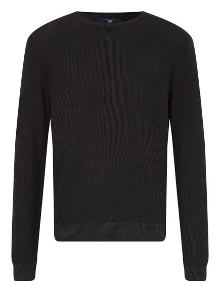 STROKESMAN'S Piqué-Pullover, Farbe: SCHWARZ (Bild 1)