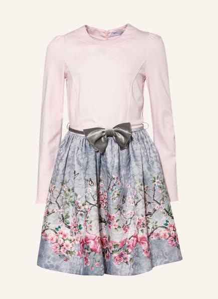MONNALISA Kleid, Farbe: HELLROSA/ GRAU/ GRÜN (Bild 1)