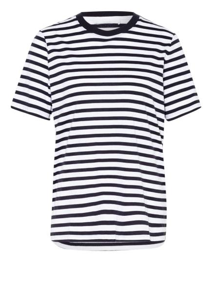 BOSS T-Shirt ECOSA, Farbe: WEISS/ DUNKELBLAU (Bild 1)