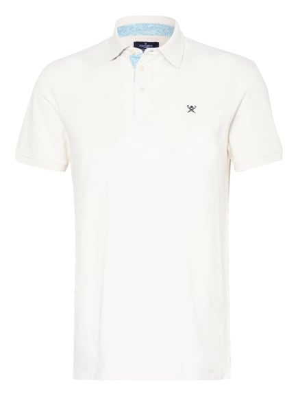 HACKETT LONDON Piqué-Poloshirt Classic Fit, Farbe: CREME (Bild 1)