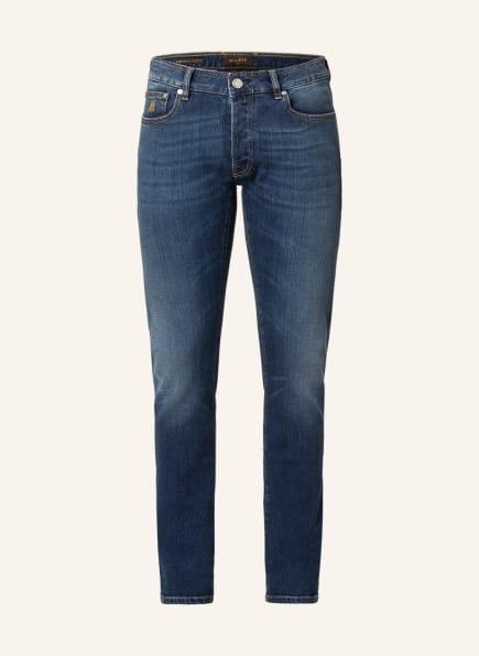 MOORER Jeans CREDI Regular Fit, Farbe: 4005 Mid blue Washed (Bild 1)