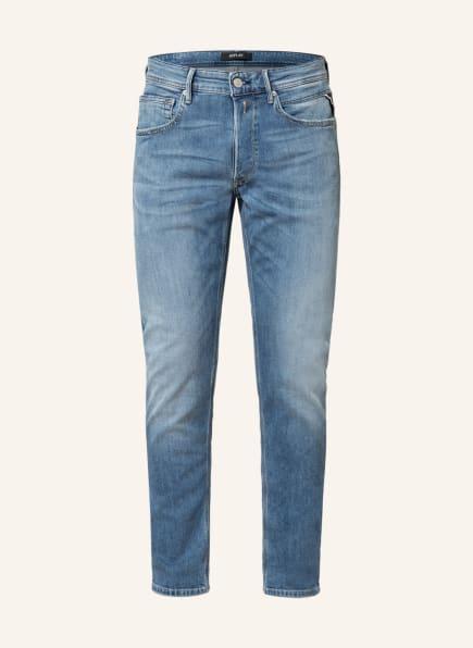 REPLAY Jeans WILLBI Regular Slim Fit, Farbe: 009 MEDIUM BLUE (Bild 1)