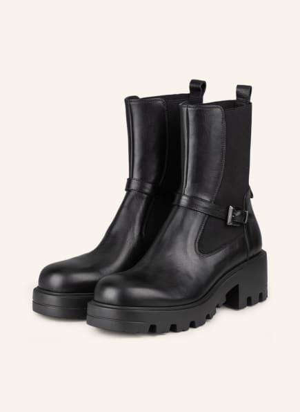 NO CLAIM Chelsea-Boots, Farbe: SCHWARZ (Bild 1)