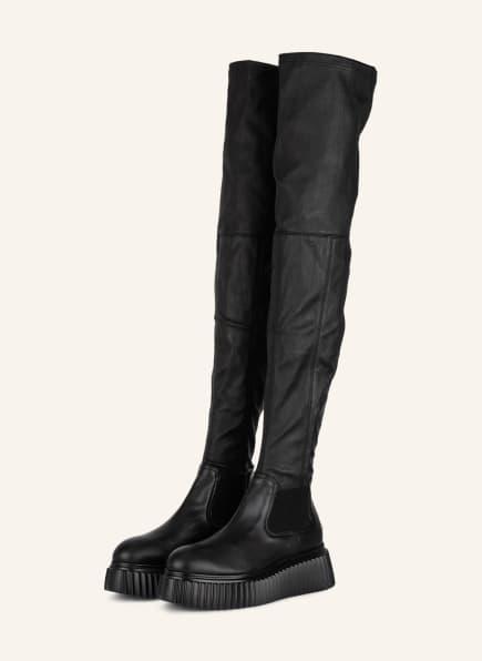 AGL Overknee-Stiefel MALISA, Farbe: SCHWARZ (Bild 1)