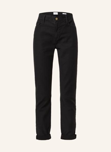 FRAME DENIM Straight Jeans LE GARCON, Farbe: WBL WASHED BLACK (Bild 1)