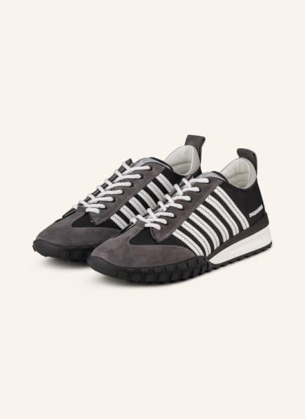 DSQUARED2 Sneaker LEGEND, Farbe: SCHWARZ/ DUNKELGRAU (Bild 1)