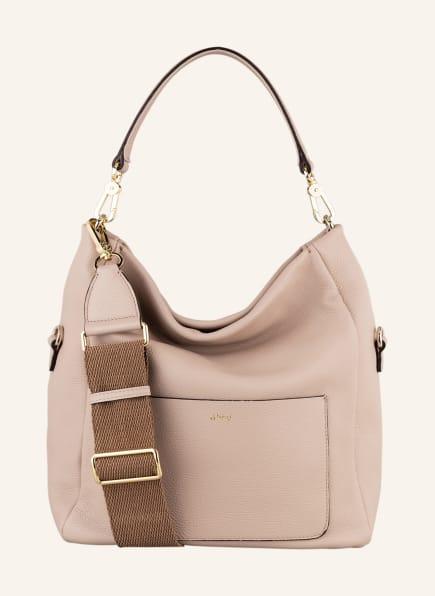 abro Handtasche RAQUEL, Farbe: NUDE (Bild 1)