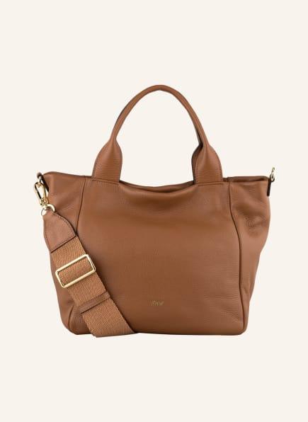 abro Shopper KAIA SMALL, Farbe: COGNAC (Bild 1)
