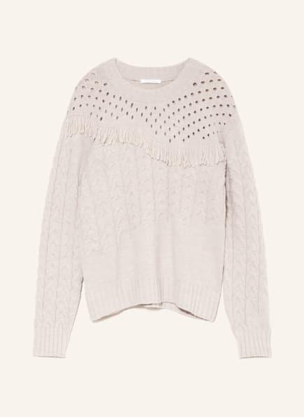 PATRIZIA PEPE Pullover, Farbe: HELLGRAU (Bild 1)