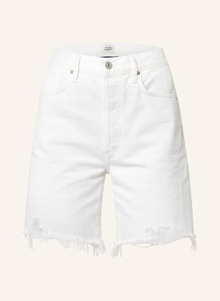 CITIZENS of HUMANITY Jeans-Shorts CAMILLA, Farbe: STARLIGHT WHITE (Bild 1)