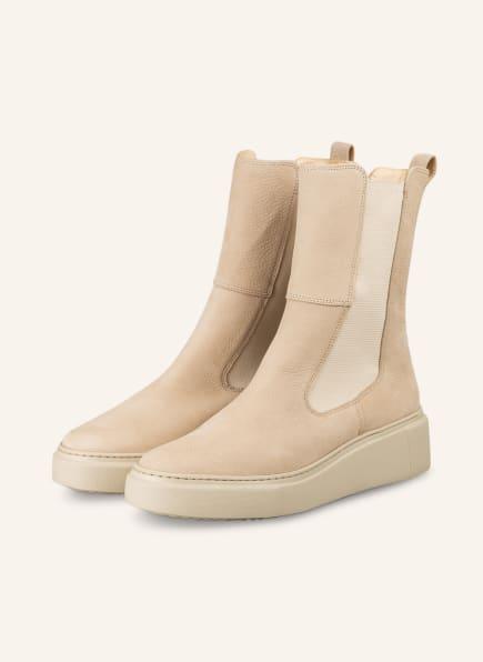 paul green Chelsea-Boots, Farbe: BEIGE (Bild 1)