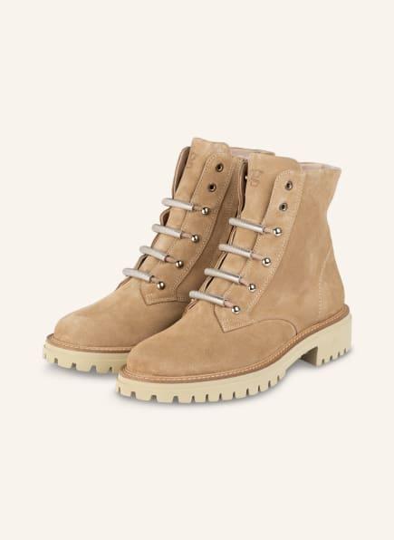 paul green Boots, Farbe: BEIGE (Bild 1)