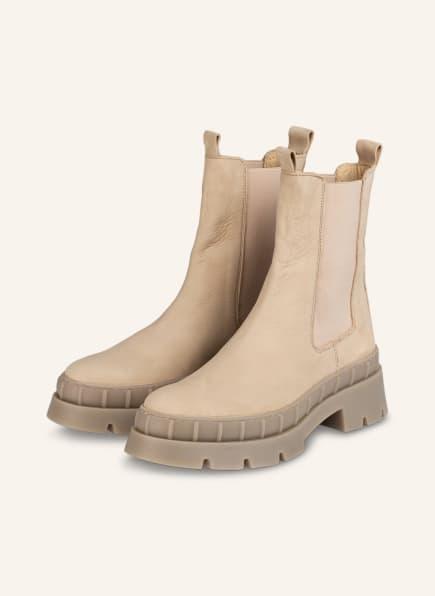 Mrs & HUGS Chelsea-Boots, Farbe: BEIGE (Bild 1)