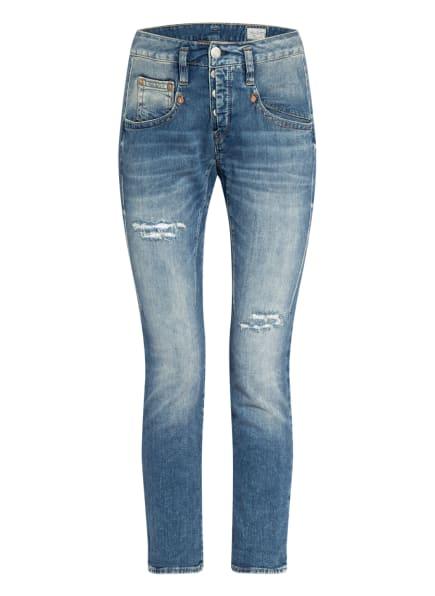 Herrlicher Boyfriend Jeans SHYRA CROPPED , Farbe: 834 mariana blue destroy (Bild 1)