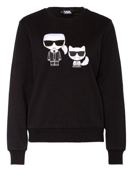 KARL LAGERFELD Sweatshirt IKONIK KARL & CHOUPETTE , Farbe: SCHWARZ (Bild 1)