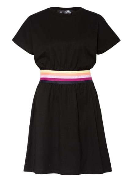 KARL LAGERFELD Jerseykleid , Farbe: SCHWARZ (Bild 1)