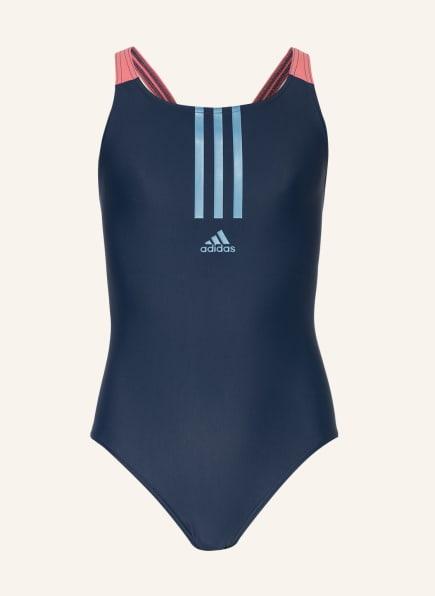 adidas Badeanzug , Farbe: DUNKELBLAU (Bild 1)