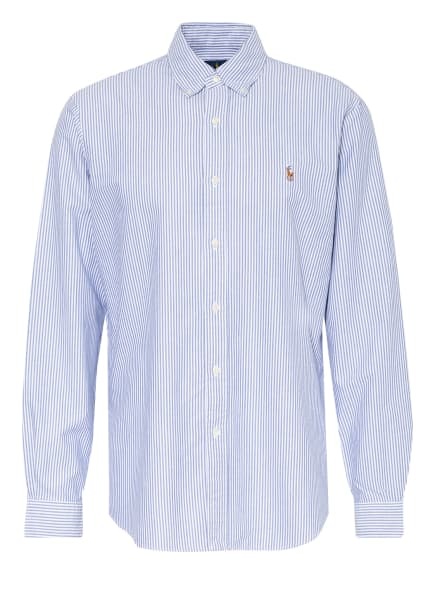 POLO RALPH LAUREN Hemd Custom Fit , Farbe: HELLBLAU/ WEISS (Bild 1)