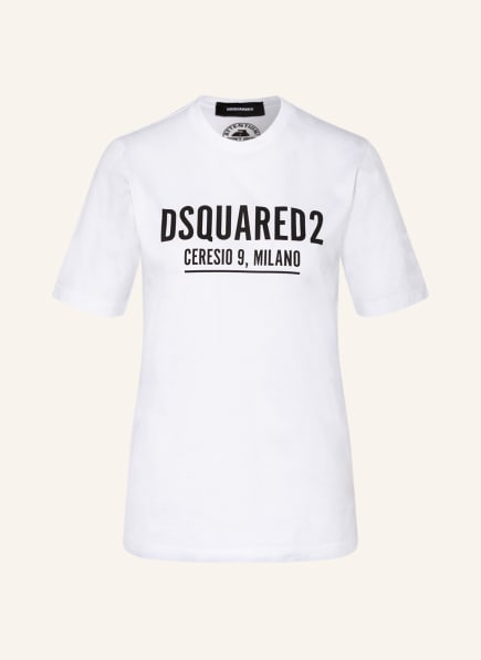 DSQUARED2 T-Shirt CERESIO RENNY , Farbe: WEISS (Bild 1)