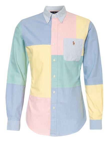 POLO RALPH LAUREN Oxfordhemd Custom Fit , Farbe: HELLBLAU/ ROSA/ HELLGRÜN (Bild 1)