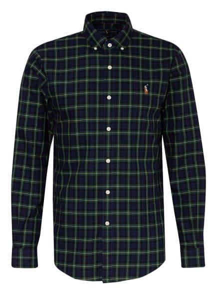 POLO RALPH LAUREN Hemd Slim Fit , Farbe: GRÜN/ DUNKELBLAU/ SCHWARZ (Bild 1)