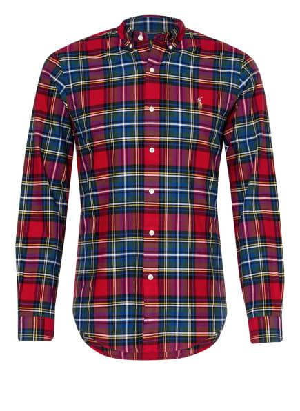 POLO RALPH LAUREN Hemd Slim Fit , Farbe: ROT/ GRÜN/ BLAU (Bild 1)