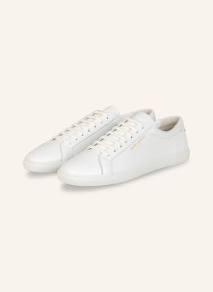SAINT LAURENT Sneaker ANDY, Farbe: WEISS (Bild 1)