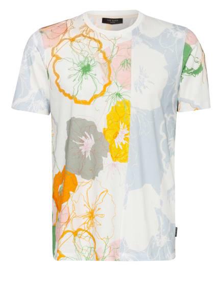 TED BAKER T-Shirt WARMDAY, Farbe: ECRU/ HELLBLAU/ ORANGE (Bild 1)