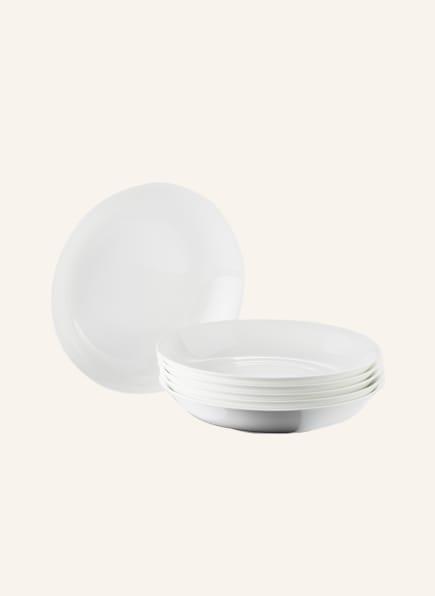 DIBBERN 6er-Set Suppenteller , Farbe: CREME (Bild 1)