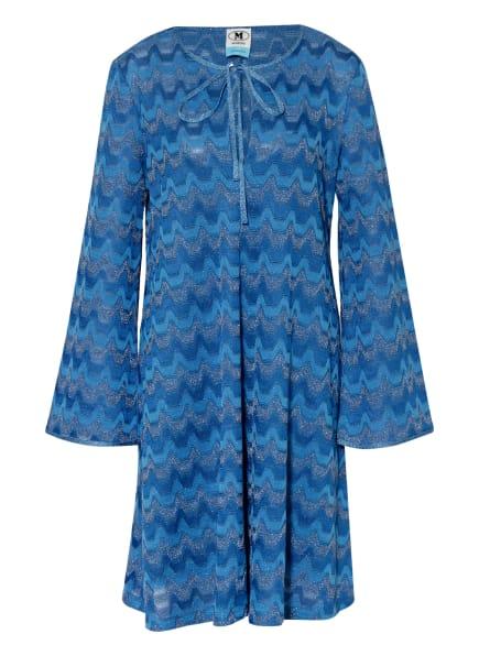 M MISSONI Kleid mit Glitzergarn, Farbe: BLAU (Bild 1)