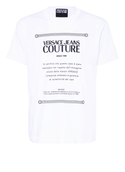 VERSACE JEANS COUTURE T-Shirt, Farbe: WEISS/ SCHWARZ (Bild 1)