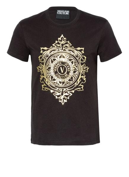 VERSACE JEANS COUTURE T-Shirt, Farbe: SCHWARZ/ GOLD (Bild 1)