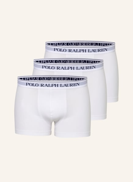 POLO RALPH LAUREN 3er-Pack Boxershorts , Farbe: WEISS (Bild 1)