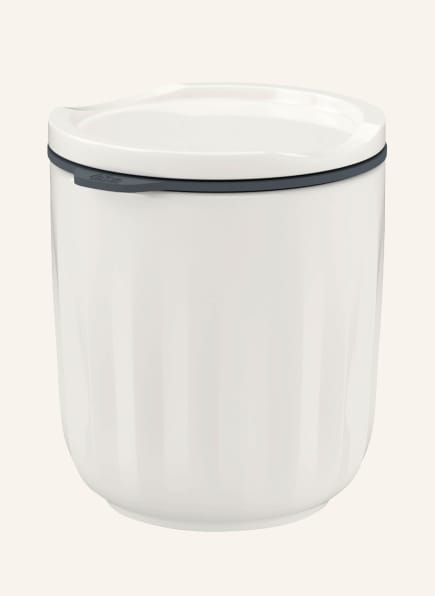 Villeroy & Boch To-Go-Becher TO GO & TO STAY, Farbe: CREME (Bild 1)