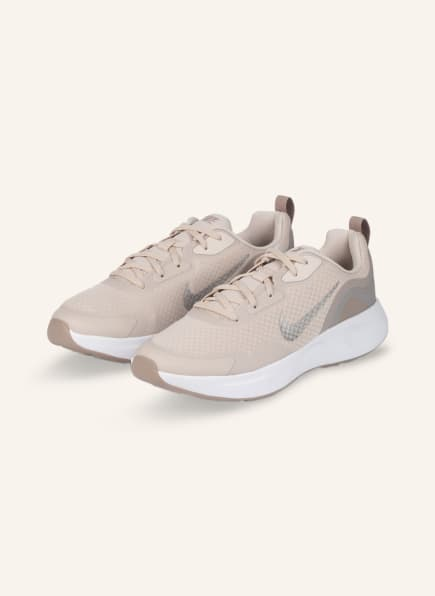Nike Sneaker WEARALLDAY, Farbe: CREME/ HELLGRAU/ SILBER (Bild 1)