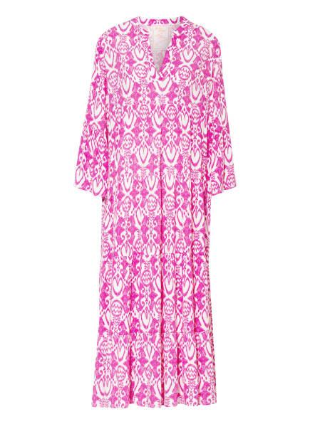 LIEBLINGSSTÜCK Kleid mit 3/4-Arm , Farbe: PINK/ WEISS (Bild 1)