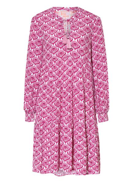 LIEBLINGSSTÜCK Kleid, Farbe: WEISS/ FUCHSIA/ ROSA (Bild 1)