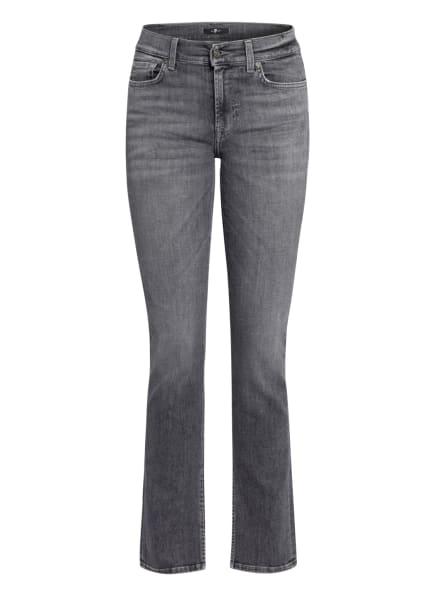 7 for all mankind Straight Jeans THE STRAIGHT, Farbe: SR Soho Grey GREY (Bild 1)