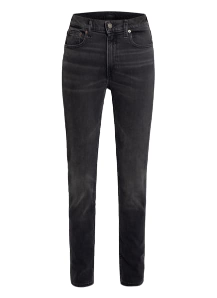 POLO RALPH LAUREN Skinny Jeans THE TOMPKINS, Farbe: 001 WASHED BLACK (Bild 1)