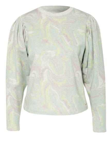TED BAKER Sweatshirt LLANAA, Farbe: HELLGRÜN/ ROSÉ/ WEISS (Bild 1)