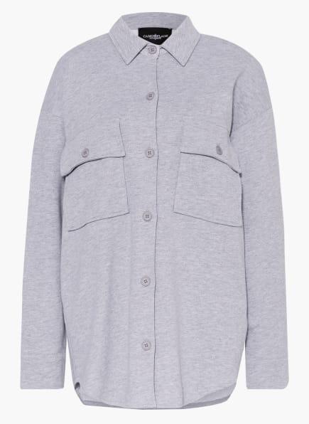 CAMOUFLAGE couture Jacke mit Schmucksteinbesatz, Farbe: GRAU (Bild 1)